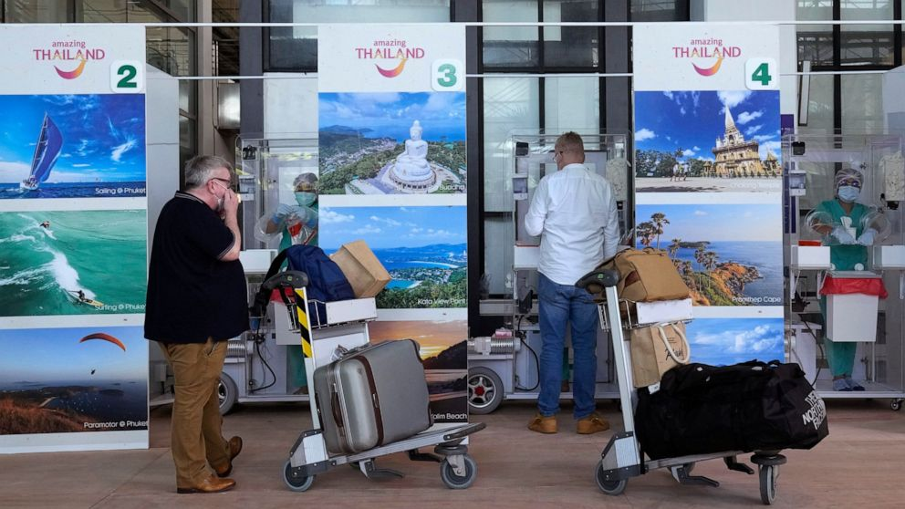 Thailand easing tourist quarantine rules in November