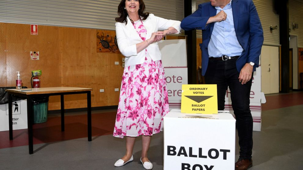 Pandemic takes center stage in Australia's Queensland vote