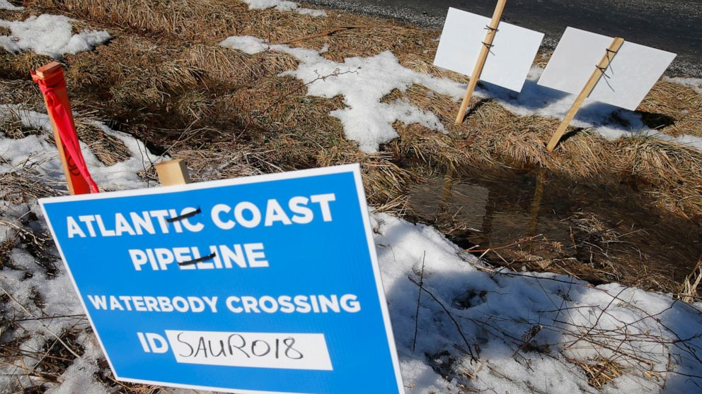 ABC News Supreme Court wades into battle over Atlantic Coast Pipeline thumbnail