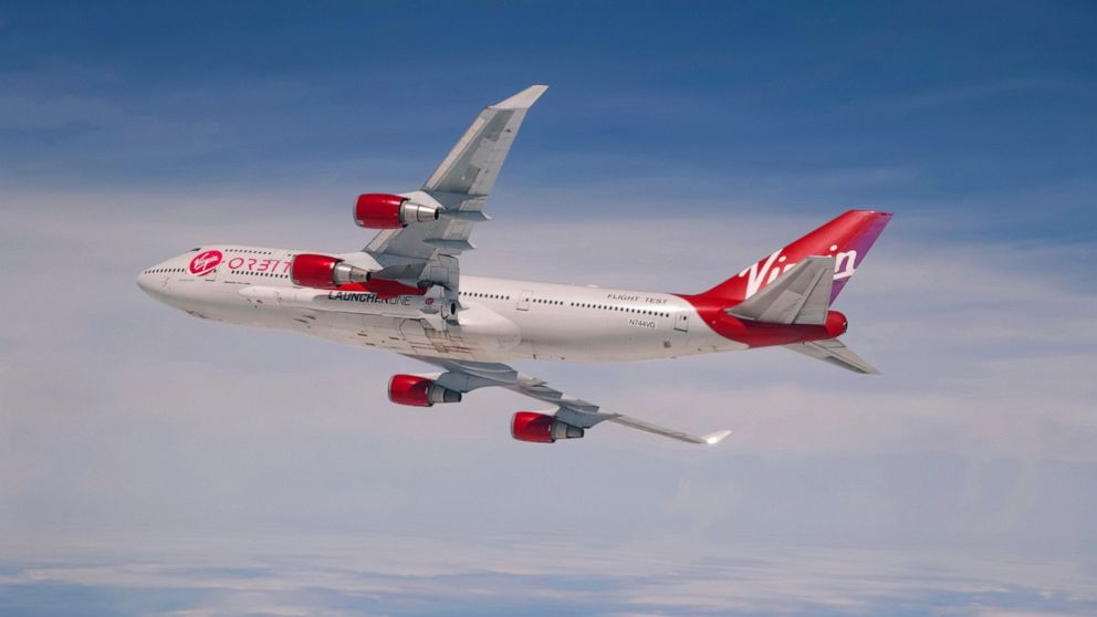 Richard Branson's Virgin Orbit plans first space launch
