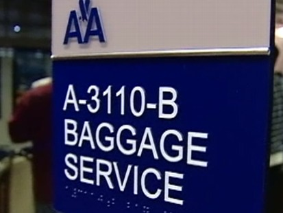 Video: Passenger sues American Airlines over lost bag.