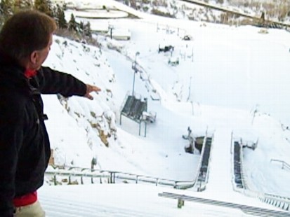 Video: Ski jumping 101 in Park City, Utah.