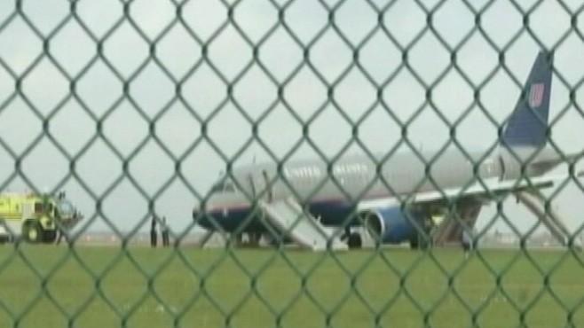 VIDEO: Air traffic controllers guide crippled plane through emergency landing.