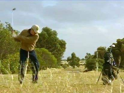 VIDEO: The worlds longest golf gourse is in Australias outback.