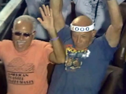 Pa. man, 78, rides roller coaster 90 times in day