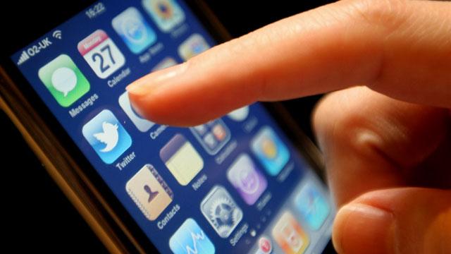 PHOTO: Twitter's mobile app