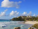 The Crane Hotel sits atop the a bluff on the south coast of Barbados over looking Crane Beach. Built in 1887, the Crane Hotel is one of the oldest hotels in the Caribbean. The eastern Caribbean nation of Barbados is an island about three times the size o