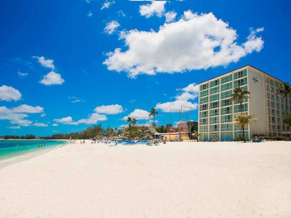 PHOTO: A resort beach is pictured in a promotional photo for Breezes Resort & Spa in the Bahamas.