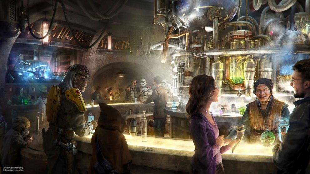 Oga Catina will serve alcohol at Disneyland.