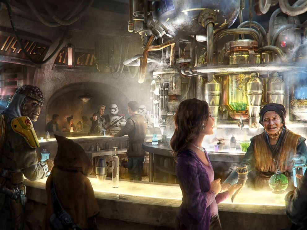 PHOTO: Oga Catina will serve alcohol at Disneyland.