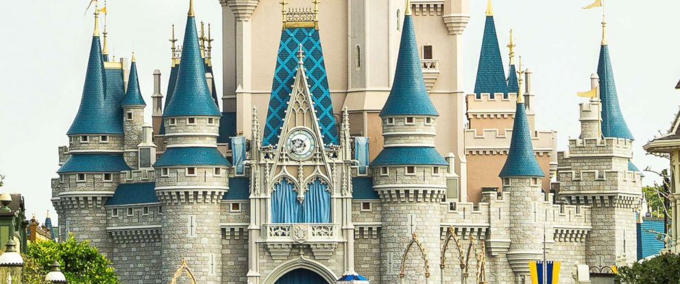 PHOTO: In this handout photo provided by Disney Parks, the U.S. Navy Flight Demonstration Squadron, the Blue Angels, streaked across the skies above Cinderella Castle, March 19, 2015, at Walt Disney World Resort in Lake Buena Vista, Florida.