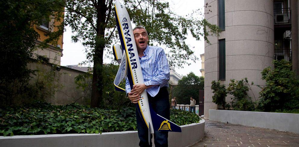 PHOTO: Ryanair CEO Michael OLeary