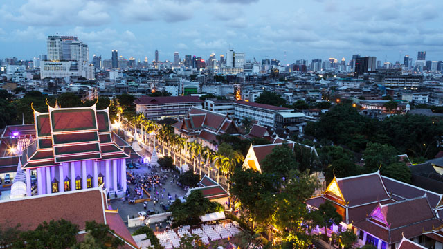 PHOTO: Bangkok is the worlds most visited city.