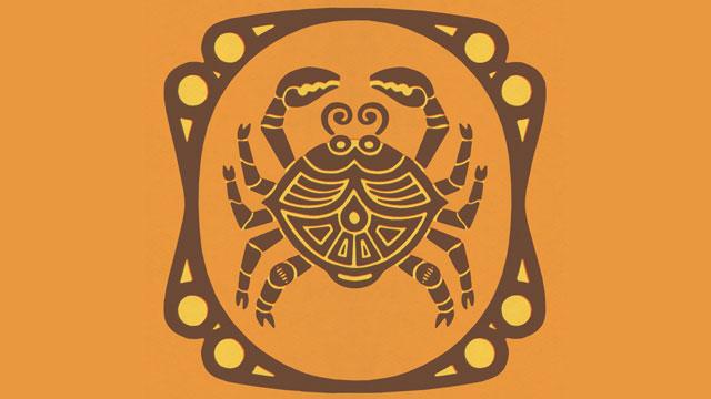 PHOTO: Cancer Zodiac Symbol