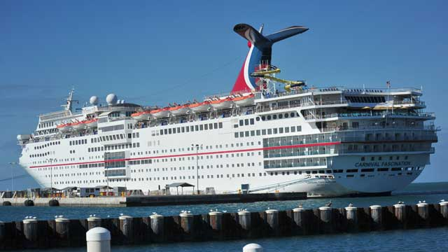PHOTO: The Carnival Fascination is seen Feb.18, 2013 in Key West, Florida.