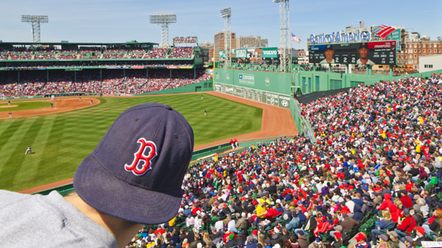 PHOTO: Fenway Park, Boston. In the heart of Boston, baseball fans will enjoy a game at America's oldest ballpark.