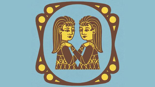 PHOTO: Gemini Zodiac Symbol