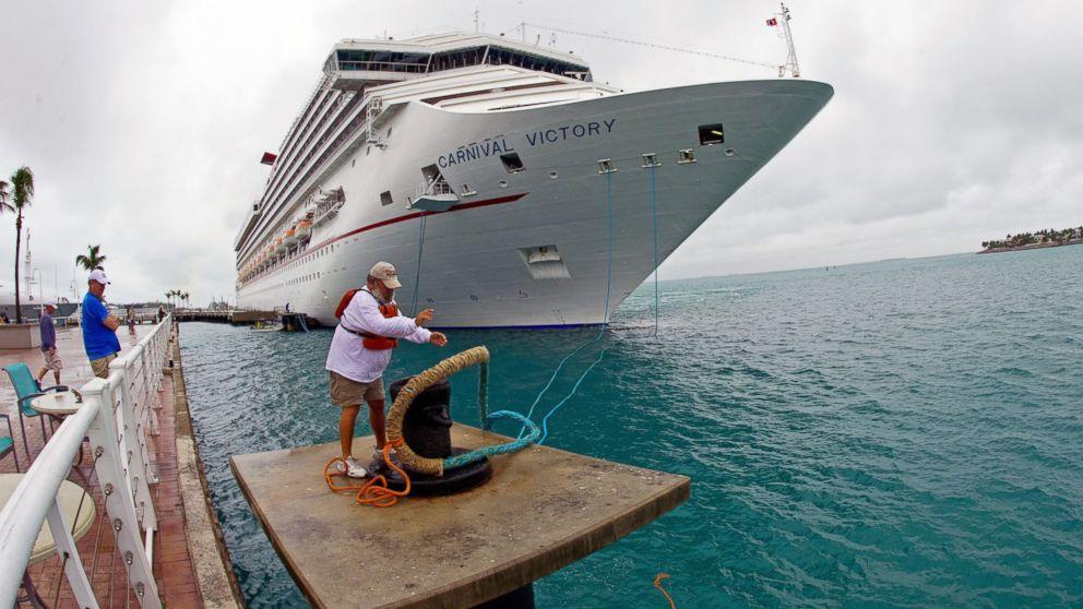 MegaCruise Ships Creating Waves In Key West ABC News - Cruise ship key west