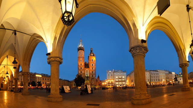 PHOTO: Krakow, Poland.