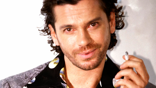 PHOTO: INXS singer Michael Hutchence is seen in this undated file photo.