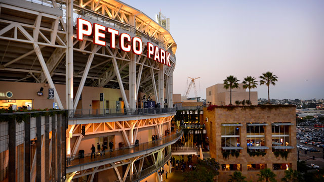 PHOTO: Scenic vieww of Petco Park, home of the San Diego Padres during a game against the Houston Astros on June 19, 2012 in San Diego.