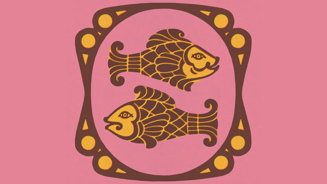 PHOTO: Pisces Zodiac Symbol