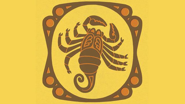 PHOTO: Scorpio Zodiac Symbol