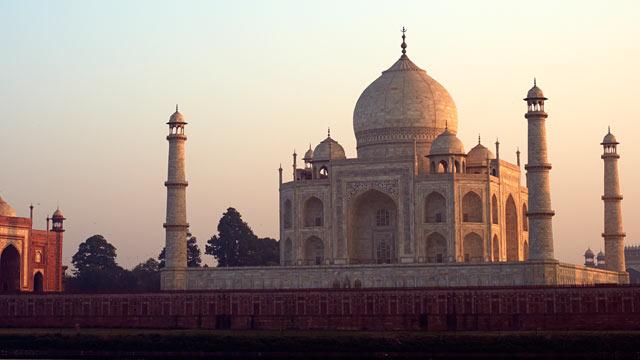 PHOTO: The Taj Mahal is shown, in Agra, Uttar Pradesh, India.
