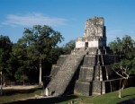 PHOTO: An ancient stone temple in Guatemala suffered significant damage from end of the word party goers earlier this month.