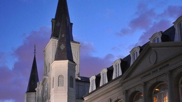 PHOTO: New Orleans church spire