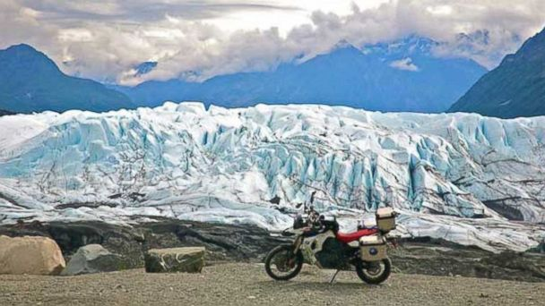 PHOTO: Matanushka Glacier with Ayres Adventures