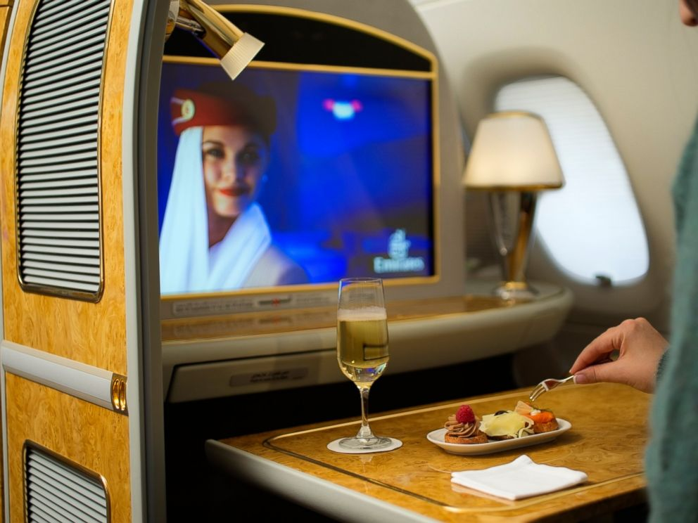 PHOTO: The first class private suite of Emirates Airline.