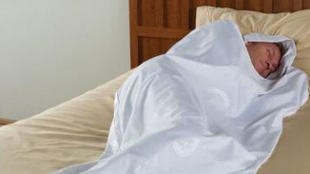 "PHOTO: The Bed Bug Thwarting Sleeping Cocoon is perfect for those who stay in ""iffy"" hotels, with a hooded sleeping sack that will prevent unwanted hitchhikers thanks to ""durable polyester threads [that] are impervious to bed bugs' teeth."""
