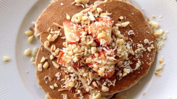 PHOTO: St. Regis Taro Pancakes