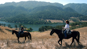 PHOTO The Alisal Guest Ranch and Resort is nestled in the Santa Ynez Mountains, up from the Pacific Hills and a stone?s throw from Michael Jackson?s infamous Neverland, some 45 minutes away in Santa Barbara.