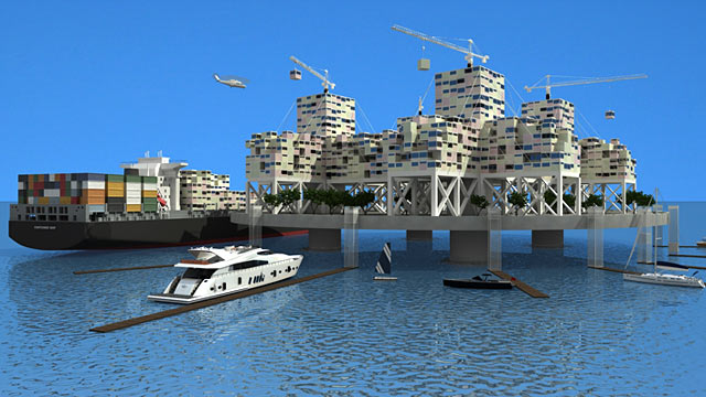 PHOTO:Anthony Ling artificial island