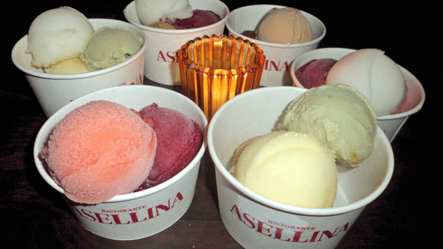 PHOTO: For all the brave souls who have withstood a Manhattan summer and will be looking to seriously cool off by August, One Group's Park Avenue Italian restaurant Asellina is providing this wonderful treat.