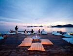 PHOTO: Babas Nest rooftop lounge and bar, at the heart of the Sri Panwa resort in Phuket, Thailand, offers 360-degree panoramic views of the surrounding sea.