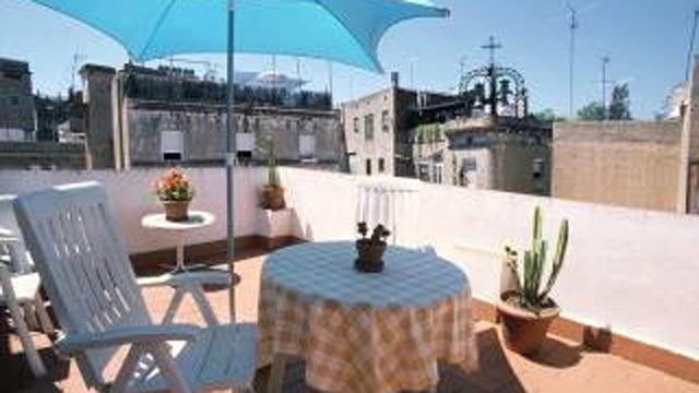 PHOTO: Seen here is a view from a vacation rental in Barcelona, Spain.