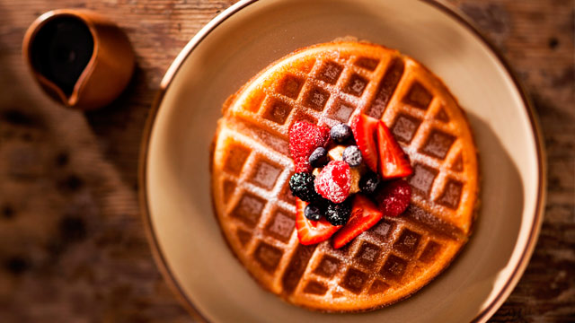 PHOTO: Belgian waffles