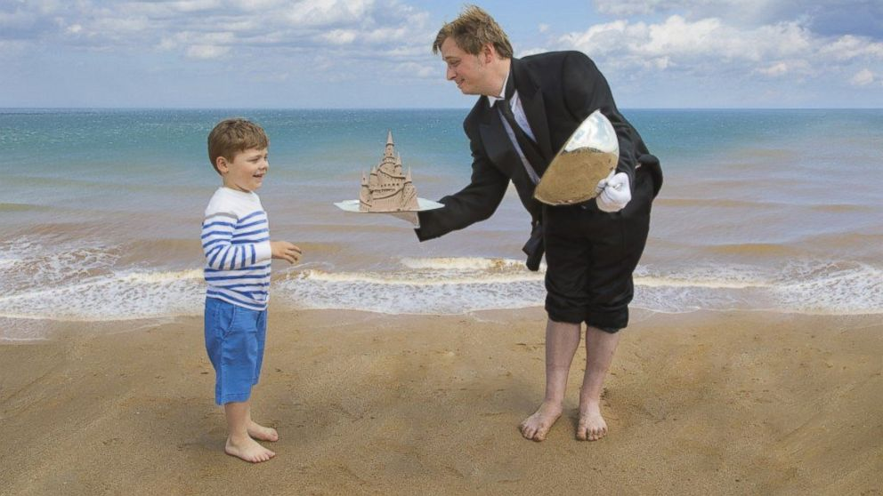 UK-Based Luxury Travel Company Offers 'Sandcastle Butlers' for Hire
