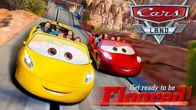 PHOTO: Cars Land promotional image