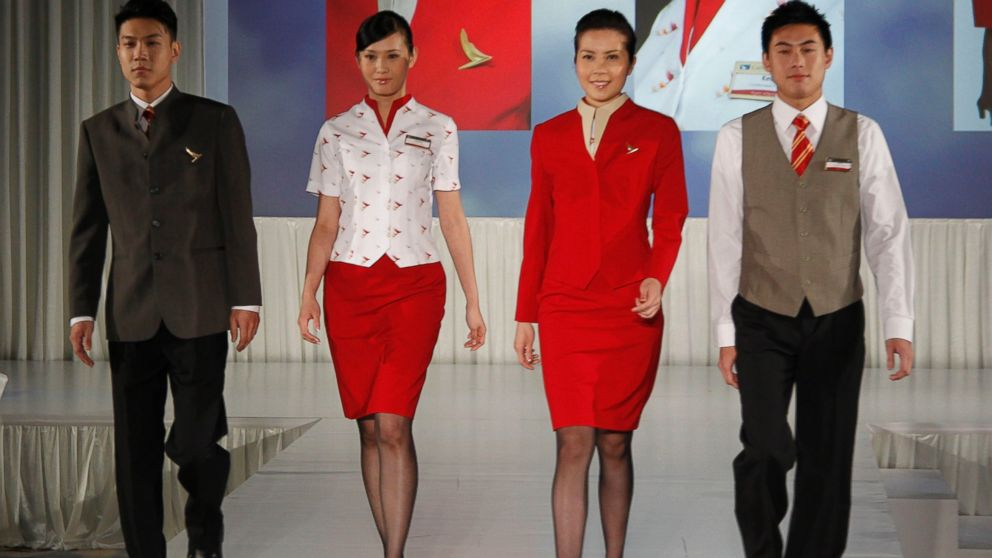 The South China Morning Post reported Cathay Pacific flight attendants are asking the airline to redesign its uniforms for women because they are too revealing and may provoke sexual harassment.