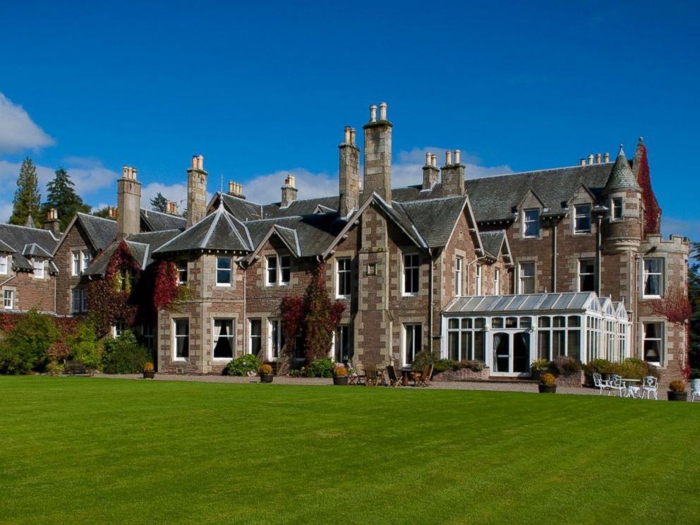 PHOTO: A view of the Cromlix hotel.