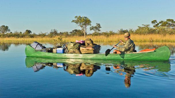 PHOTO: 3. African Canoe Trail Selinda Canoe Trail