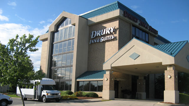 PHOTO: The Drury Inn is the home of delegates from Ohio during the 2012 Democratic National Convention in Charlotte, N.C.