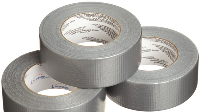 PHOTO: Duct tape from Amazon is seen here.