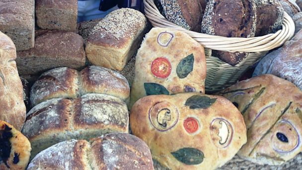 PHOTO: And for those of us who mainly appreciate artistry when its edible and not too expensive, well, the artisan food producers of the Southwest know how to make art out of something as simple as bread.