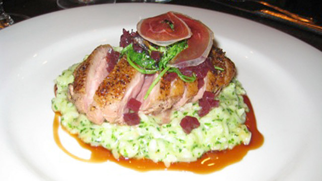 PHOTO: Dish at Fruition Restaurant