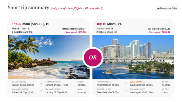 PHOTO: GetGoing.com is a new flight booking site where travelers pick two destinations theyd like to visit, but the ultimate decision is out of their hands.